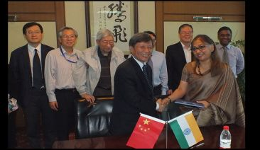ICS and Xi'an Jiaotong University sign MOUs